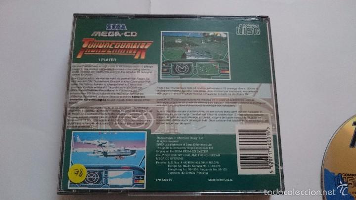 Videojuegos y Consolas: THUNDERHAWK THUNDER HAWK SEGA MEGA CD PAL ESPAÑA MEGA DRIVE.MUY BUEN ESTADO - Foto 5 - 56303271