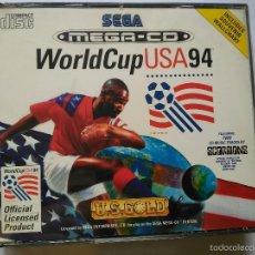Videojuegos y Consolas: SEGA MEGA CD ? WORLD CUP USA 94 NUEVO A ESTRENAR . Lote 57113846