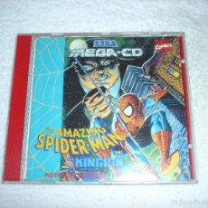 JUEGO SEGA MEGA CD: THE AMAZING SPIDER-MAN. EN FUNCIONAMIENTO.