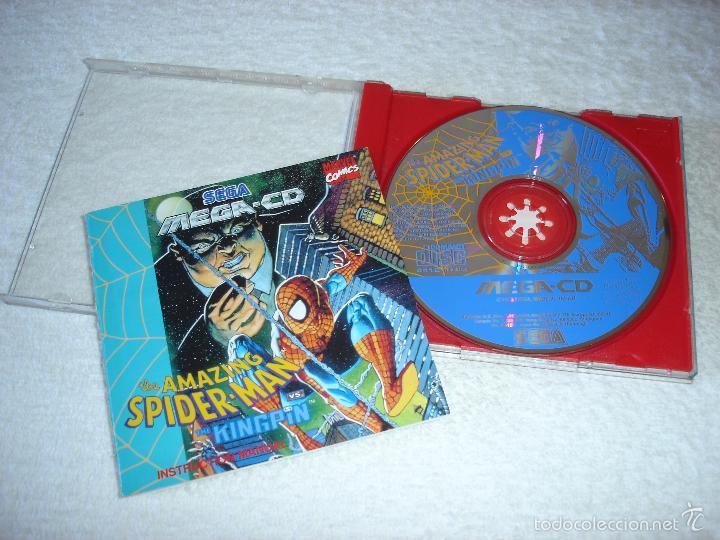 Videojuegos y Consolas: JUEGO SEGA MEGA CD: THE AMAZING SPIDER-MAN. EN FUNCIONAMIENTO. - Foto 2 - 58430078