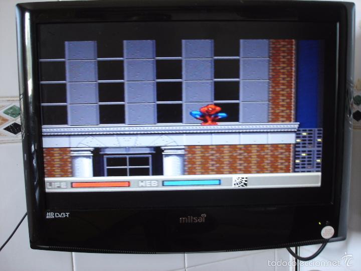 Videojuegos y Consolas: JUEGO SEGA MEGA CD: THE AMAZING SPIDER-MAN. EN FUNCIONAMIENTO. - Foto 4 - 58430078