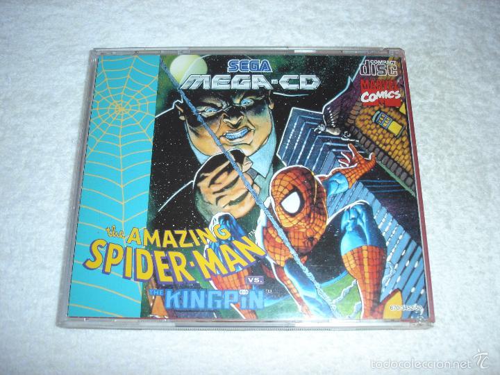 Videojuegos y Consolas: JUEGO SEGA MEGA CD: THE AMAZING SPIDER-MAN. EN FUNCIONAMIENTO. - Foto 5 - 58430078