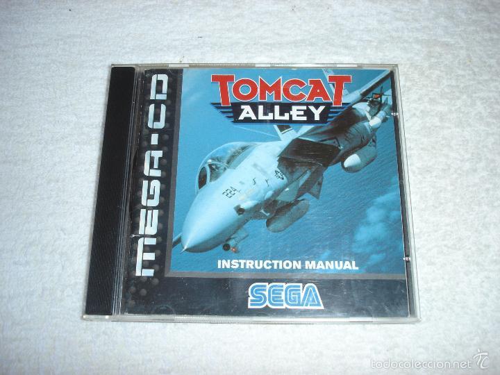 JUEGO SEGA MEGA CD: TOMCAT ALLEY. EN FUNCIONAMIENTO. VERSION EN CASTELLANO (Juguetes - Videojuegos y Consolas - Sega - Mega CD)