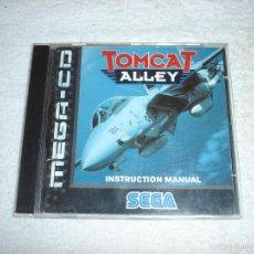 Videojuegos y Consolas: JUEGO SEGA MEGA CD: TOMCAT ALLEY. EN FUNCIONAMIENTO. VERSION EN CASTELLANO. Lote 58430289