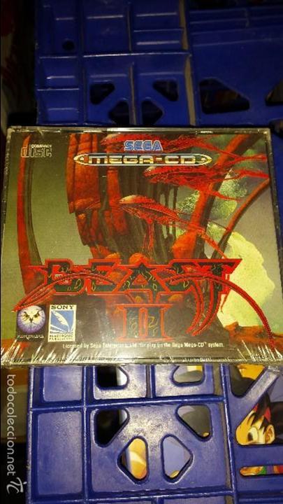 BEAST II SEGA MEGA CD NUEVO PRECINTADO IMPOSIBLE DE ENCONTRAR EN EWSTE ESTADO (Juguetes - Videojuegos y Consolas - Sega - Mega CD)