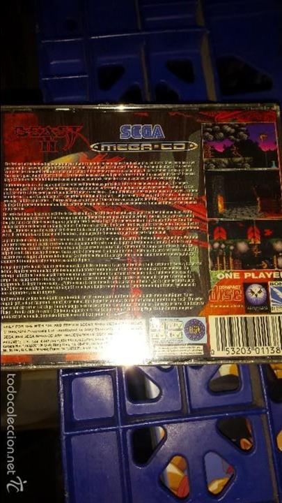 Videojuegos y Consolas: BEAST II SEGA MEGA CD NUEVO PRECINTADO IMPOSIBLE DE ENCONTRAR EN EWSTE ESTADO - Foto 2 - 115342859