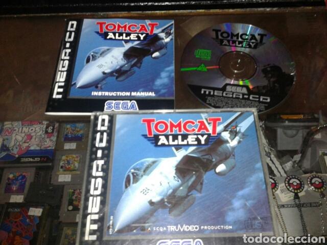 TOMCAT ALLEY,PAL,INGLES,SEGA MEGA CD,COMPLETO (Juguetes - Videojuegos y Consolas - Sega - Mega CD)