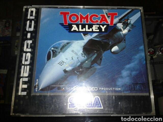 Videojuegos y Consolas: Tomcat alley,pal,ingles,sega mega CD,completo - Foto 2 - 62418679