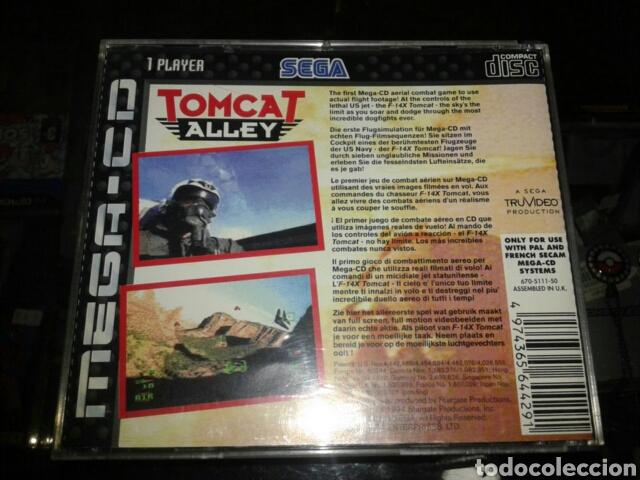 Videojuegos y Consolas: Tomcat alley,pal,ingles,sega mega CD,completo - Foto 3 - 62418679
