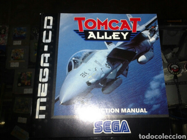 Videojuegos y Consolas: Tomcat alley,pal,ingles,sega mega CD,completo - Foto 4 - 62418679