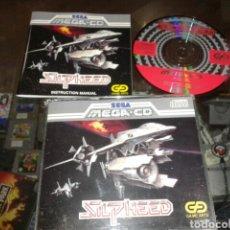 Videojuegos y Consolas: SILPHEED,SEGA MEGA CD,PAL,COMPLETO. Lote 62421384