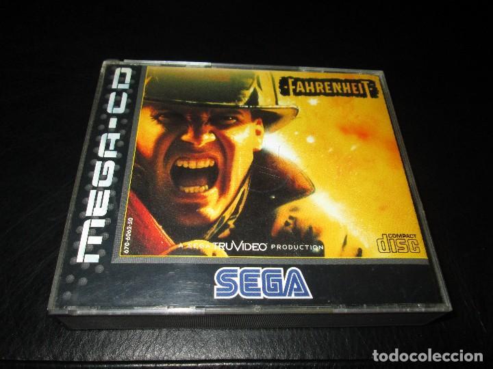 SEGA MEGA CD ~ FAHRENHEIT ~ COMPLETO (Juguetes - Videojuegos y Consolas - Sega - Mega CD)