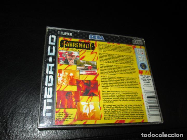 Videojuegos y Consolas: SEGA MEGA CD ~ FAHRENHEIT ~ COMPLETO - Foto 2 - 64498423