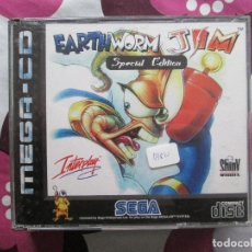 Videojuegos y Consolas: EARTH WORM JIM MEGA CD. Lote 71122485