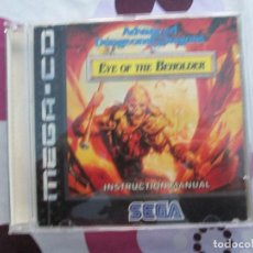 Videojuegos y Consolas: ADVANCED DUNGEONS & DRAGONS: EYE OF THE BEHOLDER MEGA CD. Lote 82882704