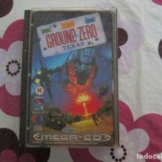 Videojuegos y Consolas: GROUND ZERO TEXAS MEGA CD. Lote 82955900
