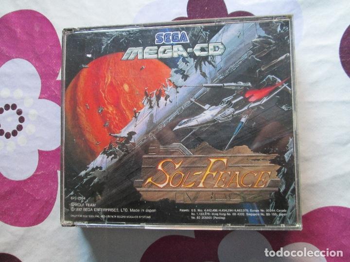 SOL-FEACE Y COBRA COMMAND MEGA CD (Juguetes - Videojuegos y Consolas - Sega - Mega CD)