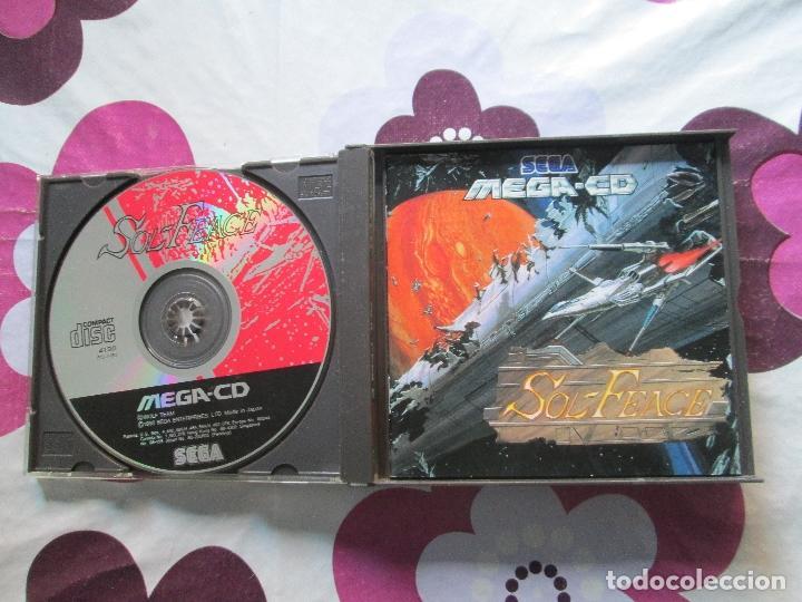 Videojuegos y Consolas: SOL-FEACE Y COBRA COMMAND MEGA CD - Foto 2 - 82958684