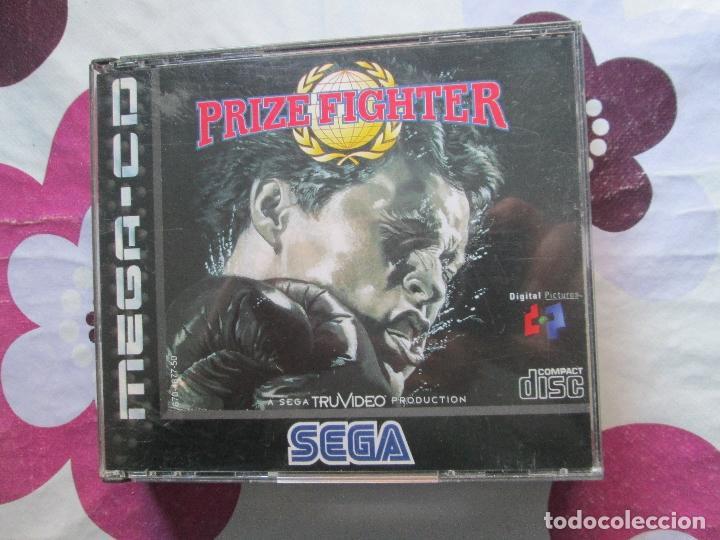 PRIZE FIGHTER MEGA CD (Juguetes - Videojuegos y Consolas - Sega - Mega CD)