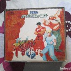 Videojuegos y Consolas: FINAL FIGHT MEGA CD. Lote 92127619