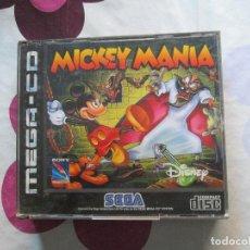 Videojuegos y Consolas: MICKEY MANIA MEGA CD. Lote 82963068