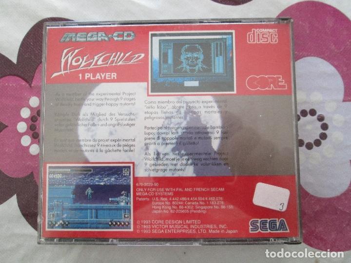 Videojuegos y Consolas: WOLFCHILD MEGA CD - Foto 3 - 178397872