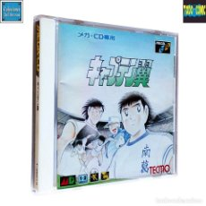 Videojuegos y Consolas: CAPTAIN TSUBASA ORIGINS / CAPITÁN TSUBASA / MEGA CD / SEGA / TECMO 1994 (OLIVER Y BENJI). Lote 93576460
