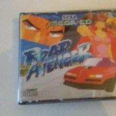 Videojuegos y Consolas: ROAD AVENGER - SEGA MEGA CD 1993 PAL ESPAÑA JUEGO COMPLETO.. Lote 93870960