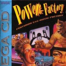 Videojuegos y Consolas: POWER FACTORY FEATURING C + C MUSIC FACTORY (SEGA CD) COMPLETE. Lote 96803659