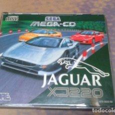 Videojuegos y Consolas: JUEGO SEGA MEGA - CD JAGUAR XJ 220 DE 1993 -2 PLAYERS ( 670 - 3023 - 50 ). Lote 97385483