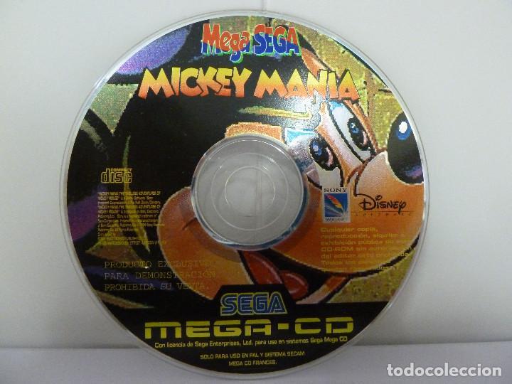 JUEGO MEGA CD - MICKEY MANIA (Juguetes - Videojuegos y Consolas - Sega - Mega CD)