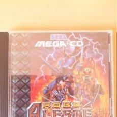 Videojuegos y Consolas: ROBO ALESTE SEGA MEGA CD - RETRO MEGADRIVE GENESIS SEGACD MEGACD - 16BITS. Lote 104694071