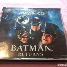 Videojuegos y Consolas: SEGA BATMAN RETURNS SEGA MEGA CD 1993 JUEGO COMPLETO.. Lote 109055223