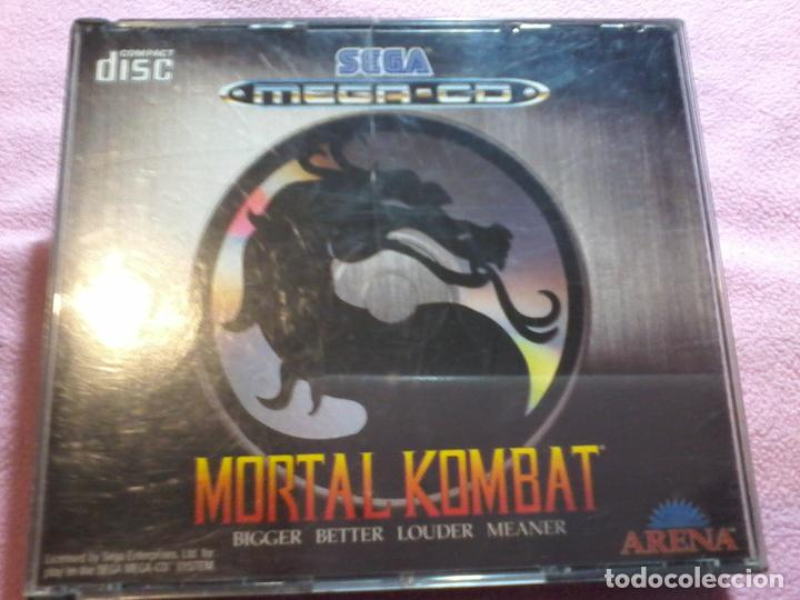 MORTAL KOMBAT MEGA CD,PAL,COMPLETO (Juguetes - Videojuegos y Consolas - Sega - Mega CD)