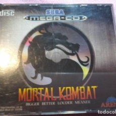 Videojuegos y Consolas: MORTAL KOMBAT MEGA CD,PAL,COMPLETO. Lote 109089699