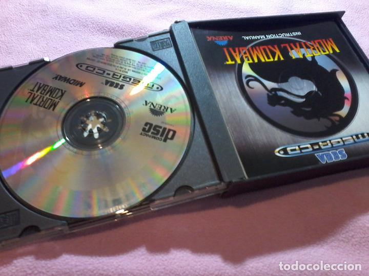 Videojuegos y Consolas: MORTAL KOMBAT MEGA CD,PAL,COMPLETO - Foto 2 - 109089699