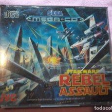 Videojuegos y Consolas: REBEL ASSAULT MEGA CD,PAL,COMPLETO. Lote 109089879