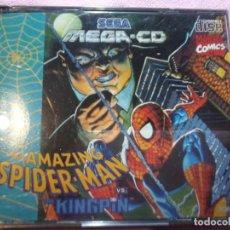 Videojuegos y Consolas: THE AMAZING SPIDER-MAN VS. KINGRIN MEGA CD SEGA ESPAÑA PAL. Lote 109090259