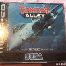 Videojuegos y Consolas: TOMCAT ALLEY MEGA CD SEGA ESPAÑA PAL. Lote 109090399
