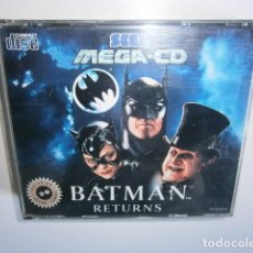 Videojuegos y Consolas: BATMAN RETURNS MEGA CD SEGA. Lote 114719527