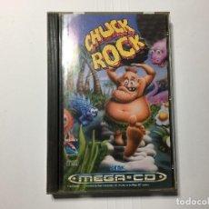 Videojuegos y Consolas: JUEGO CHUCK ROCK DE MEGA CD DE SEGA. Lote 114730955