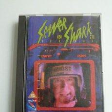 Videojuegos y Consolas: SEWER SHARK MEGA CD SEGA CAJA GRANDE ESPAÑA PAL RARO JUEGO /GAME CON INSTRUCCIONES COMO NUEVO. Lote 114841543