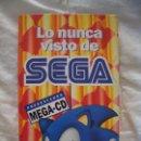 Videojuegos y Consolas: VÍDEO VHS LO NUNCA VISTO DE SEGA. Lote 121101039