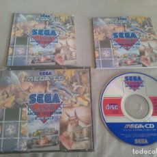 Videojuegos y Consolas: SEGA MEGA CD CLASSICS ARCADE COLLECTION LIMITED EDITION 5 JUEGOS EN UN CD ENTRA Y MIRALO!!!. Lote 136648582