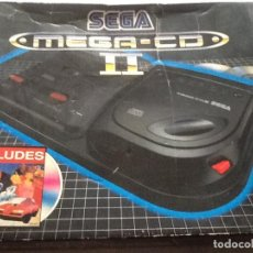 Videojuegos y Consolas: LOTE DE CONSOLAS SEGA MEGA CD 2 Y MEGA DRIVE + 4 JUEGOS. Lote 144510714