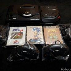 Videojuegos y Consolas: MEGA DRIVE I - MEGA CD II Y JUEGOS. Lote 147373222