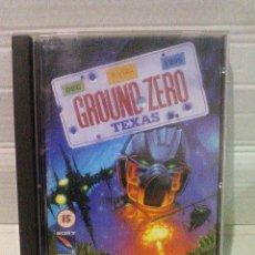 Videojuegos y Consolas: GROUND ZERO TEXAS MEGA CD MEGADRIVE SEGA. Lote 151396534
