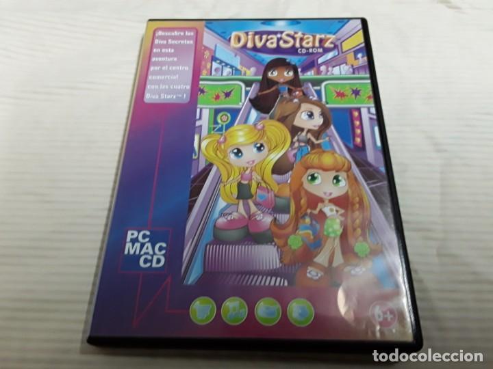 JUEGO DE PC, DIVASTRAZ (Juguetes - Videojuegos y Consolas - Sega - Mega CD)