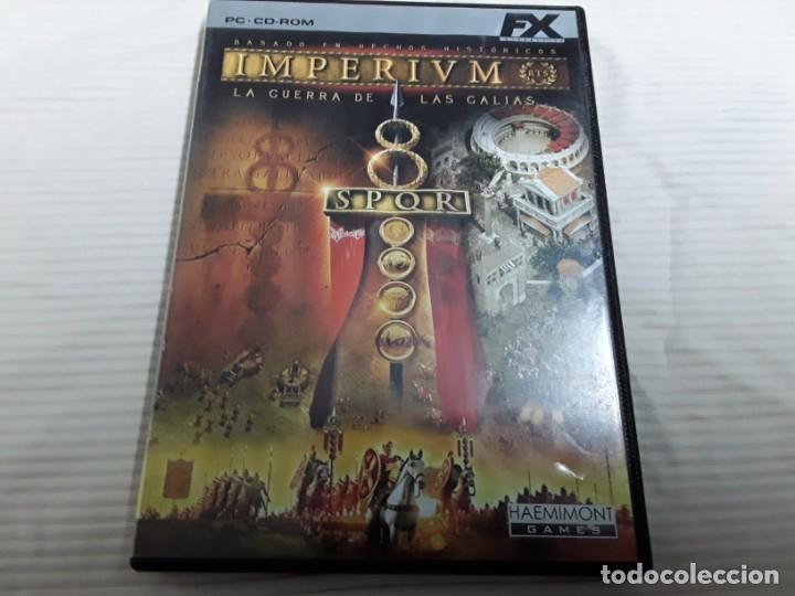 PC IMPERIVM ,LAS GUERRAS DE LAS GALIAS (Juguetes - Videojuegos y Consolas - Sega - Mega CD)