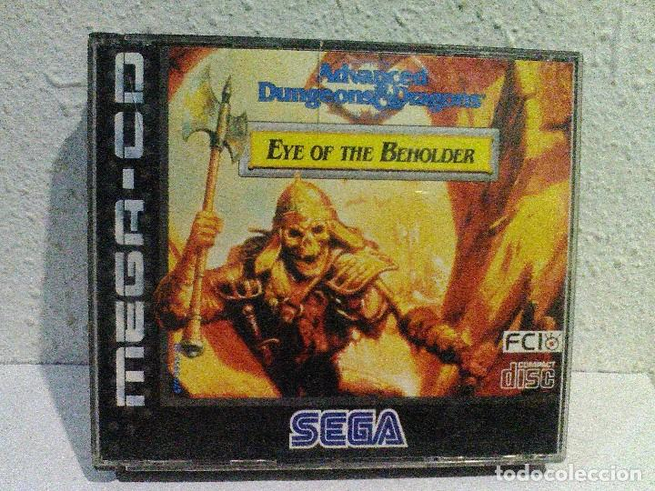 AD&D EYE OF THE BEHOLDER MEGA CD SEGA (Juguetes - Videojuegos y Consolas - Sega - Mega CD)